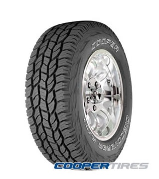 Neumaticos  COOPER TIRES 225/75 R17 r DISCOVERER A/T3 LT eeuu sku wn-2420