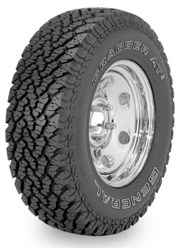 Neumaticos GENERAL TIRE GRABBER AT 255/65 R17 S