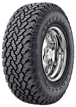 Neumaticos  GENERAL TIRE 245/75 R16 s GRABBER AT2 mexico sku wn-2091