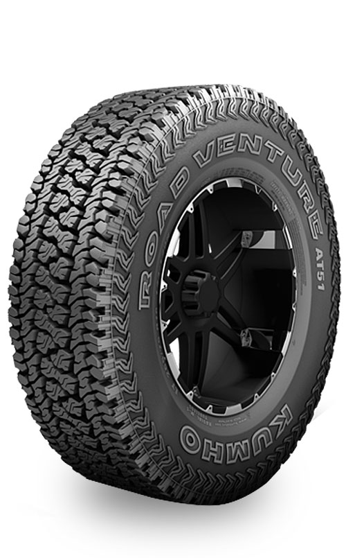 Neumaticos  KUMHO 245/75 R16 100 ROAD VENTURE AT51  sku wn-9417